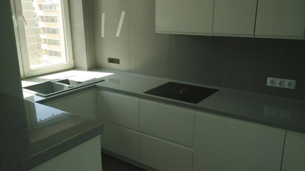 Акриловые кухни-Кухня МДФ в эмали «Модель 85»-фото4