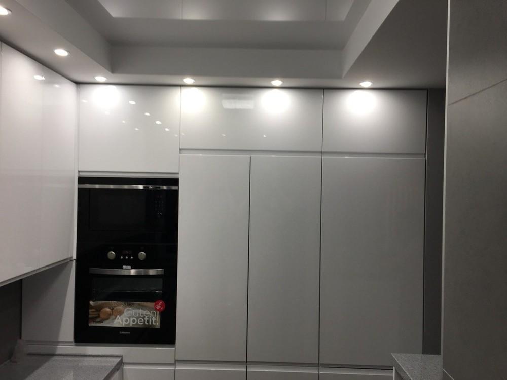 Акриловые кухни-Кухня МДФ в эмали «Модель 85»-фото7