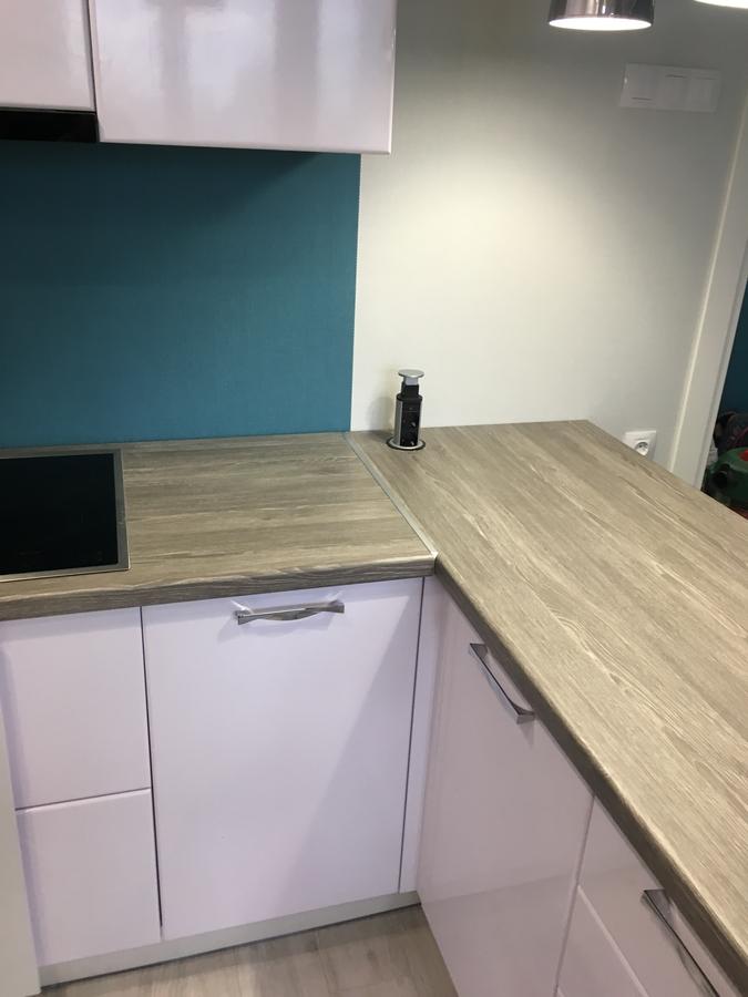 Белый кухонный гарнитур-Кухня МДФ в ПВХ «Модель 63»-фото4