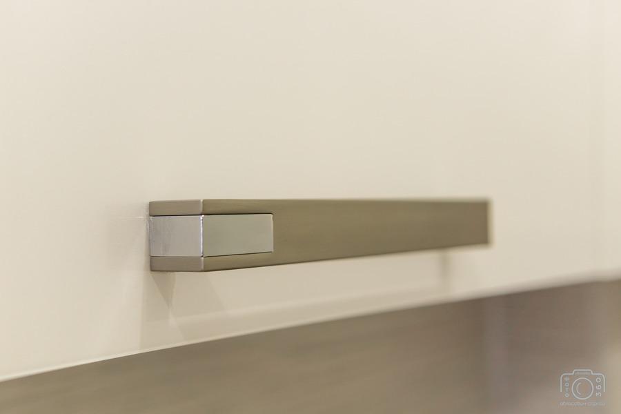 Белый кухонный гарнитур-Кухня из пластика «Модель 1»-фото9