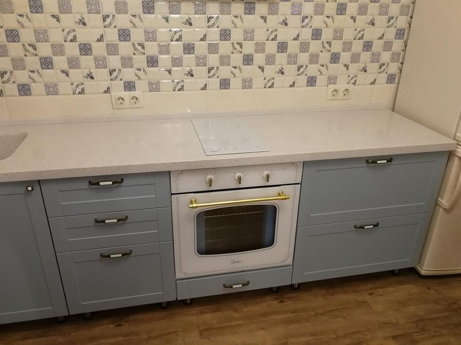 Классические кухни-Кухня МДФ в ПВХ «Модель 28»-фото10