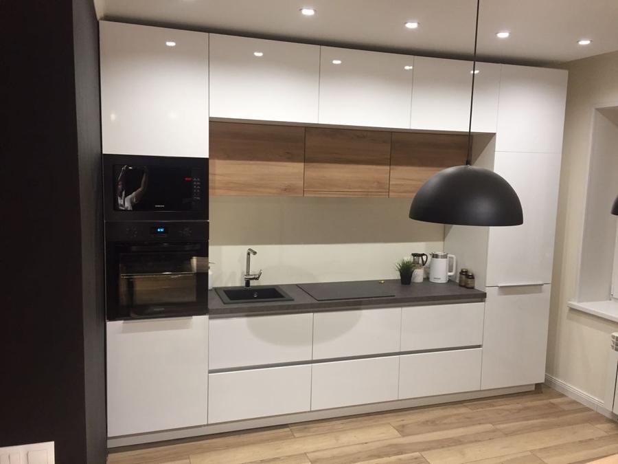 Акриловые кухни-Кухня из акрила «Модель 349»-фото2