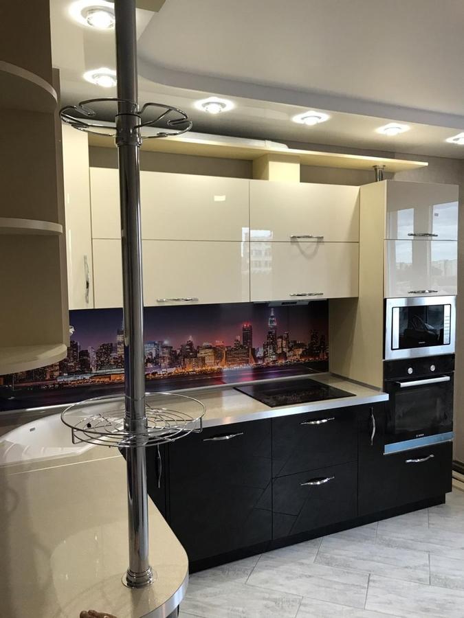 Глянцевые кухни-Кухня из пластика «Модель 398»-фото3