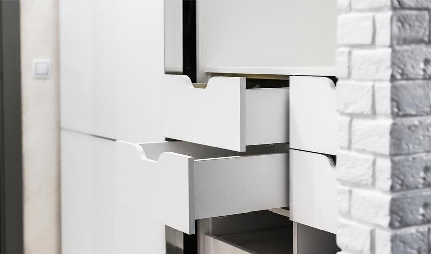 Белые шкафы-купе-Шкаф-купе из ЛДСП «Модель 233»-фото3