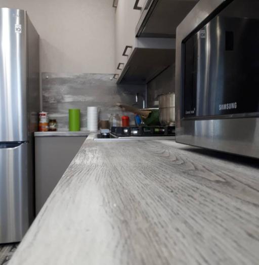 Белый кухонный гарнитур-Кухня из ЛДСП «Модель 492»-фото4