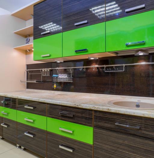 -Кухня из пластика «Модель 55»-фото14