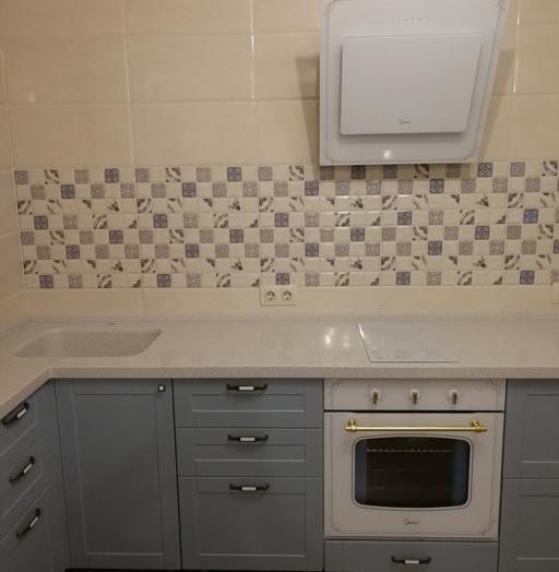 -Кухня МДФ в ПВХ «Модель 28»-фото2