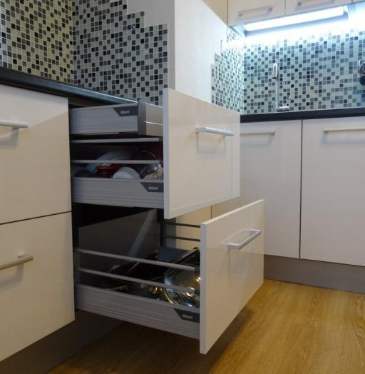 -Кухня из пластика «Модель 131»-фото12