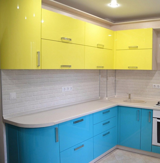 -Кухня МДФ в эмали «Модель 167»-фото8