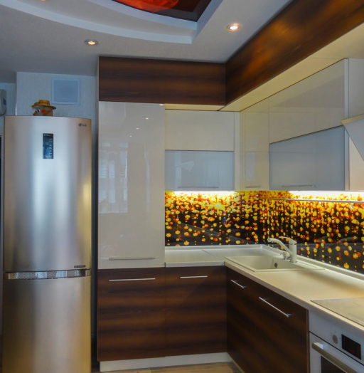 -Кухня из акрила «Модель 299»-фото22